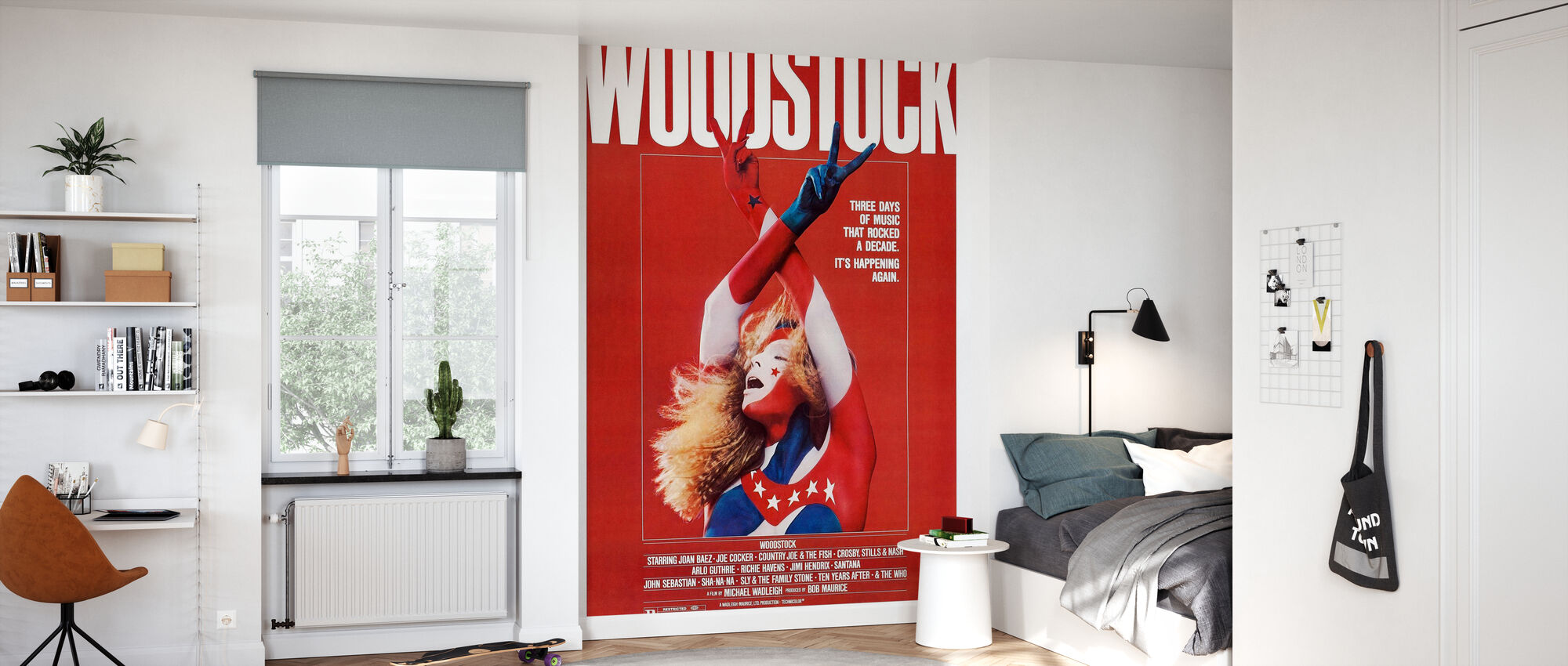 Woodstock Poster Art - Wallpaper - Kids Room