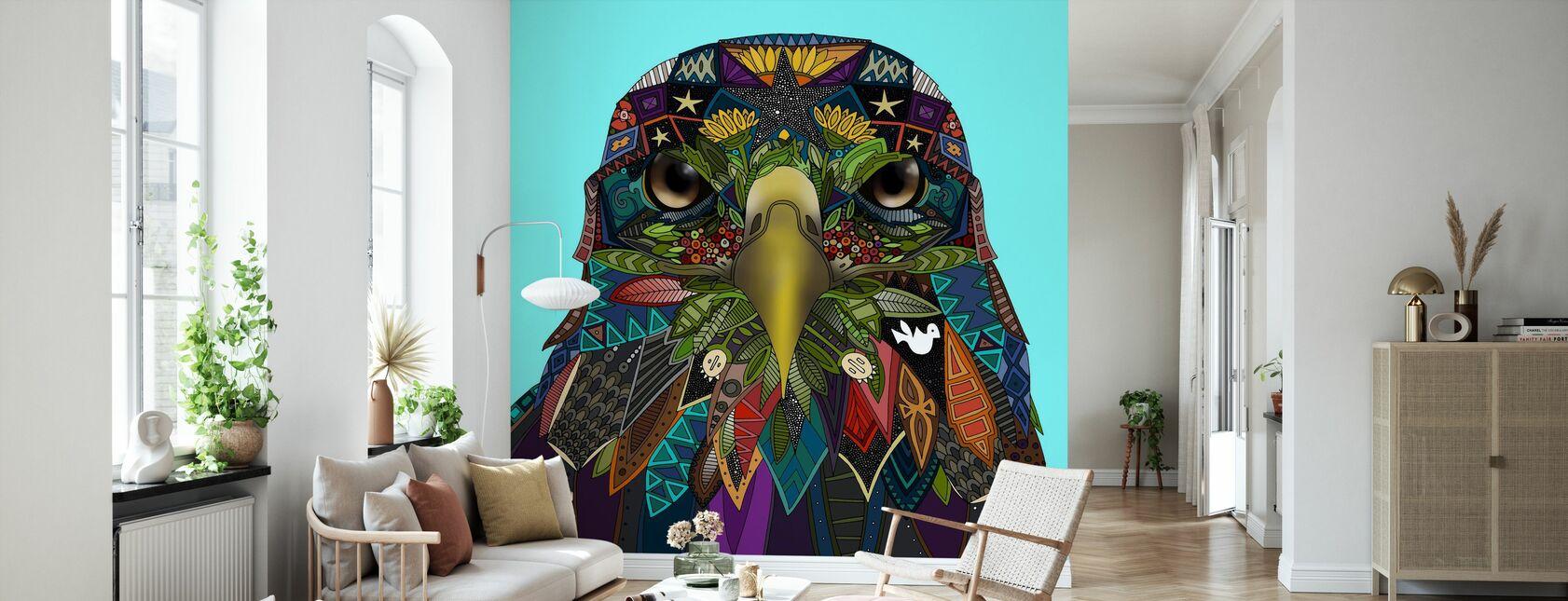 American Eagle - Wallpaper - Living Room