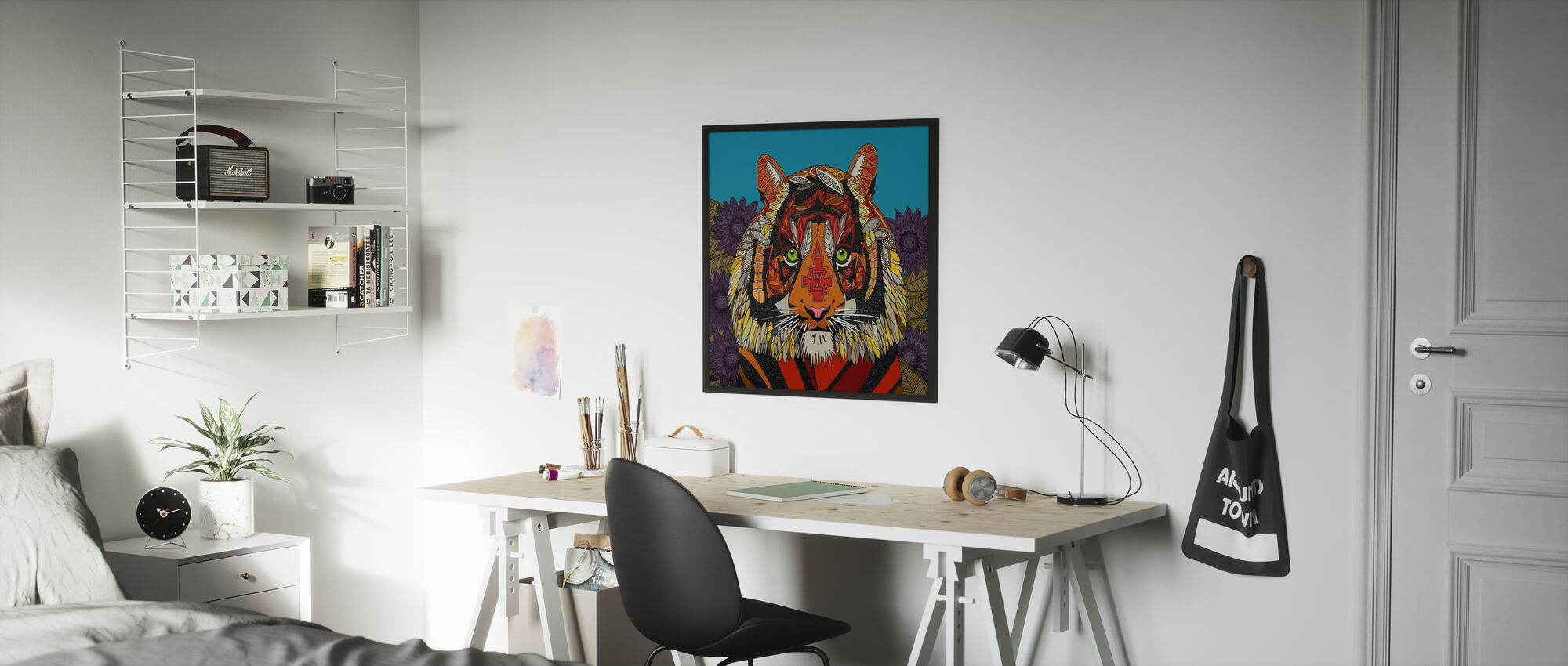 Tiger Chief - Poster - Kids Room