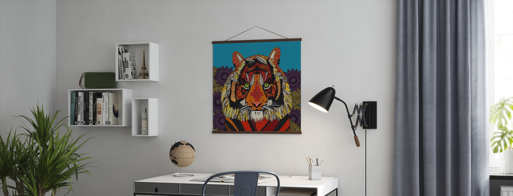 Szef tygrysa - Plakat - Biuro