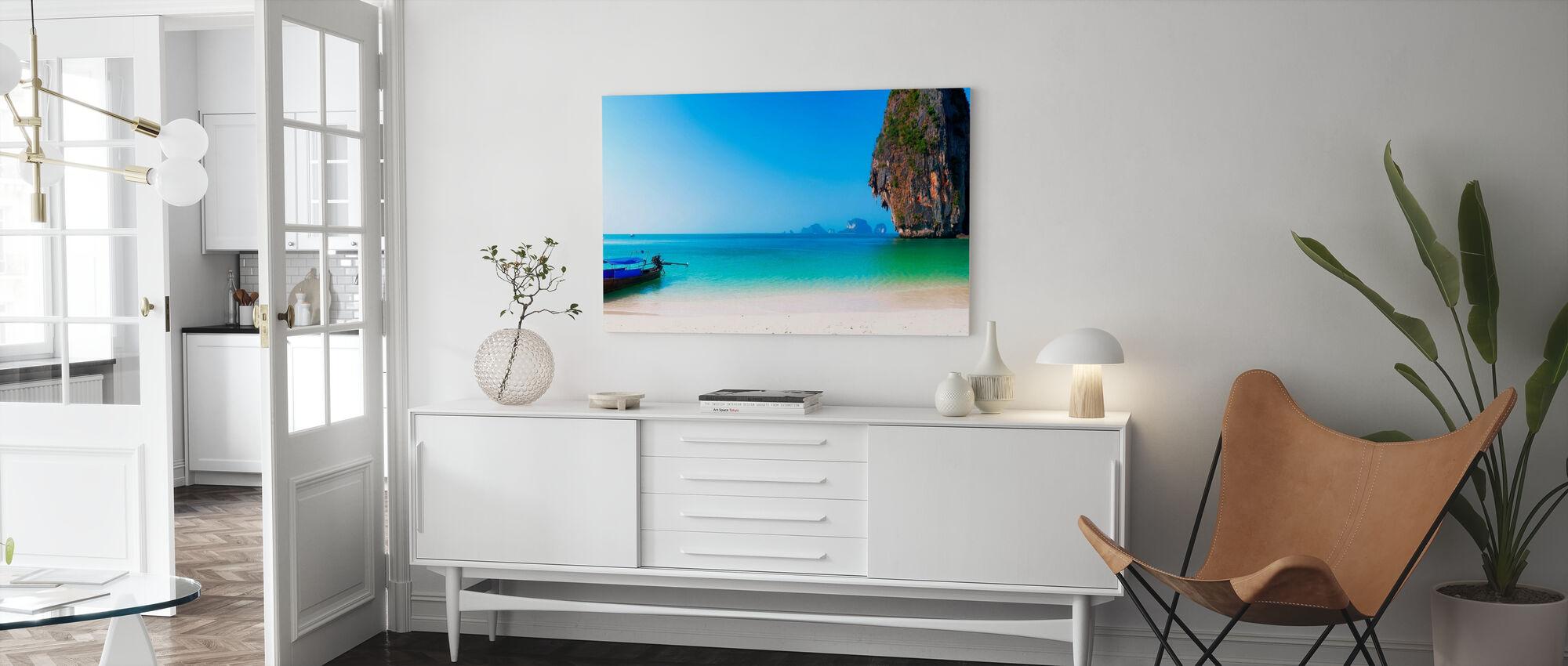 Thailand Island Beach - Canvas print - Living Room