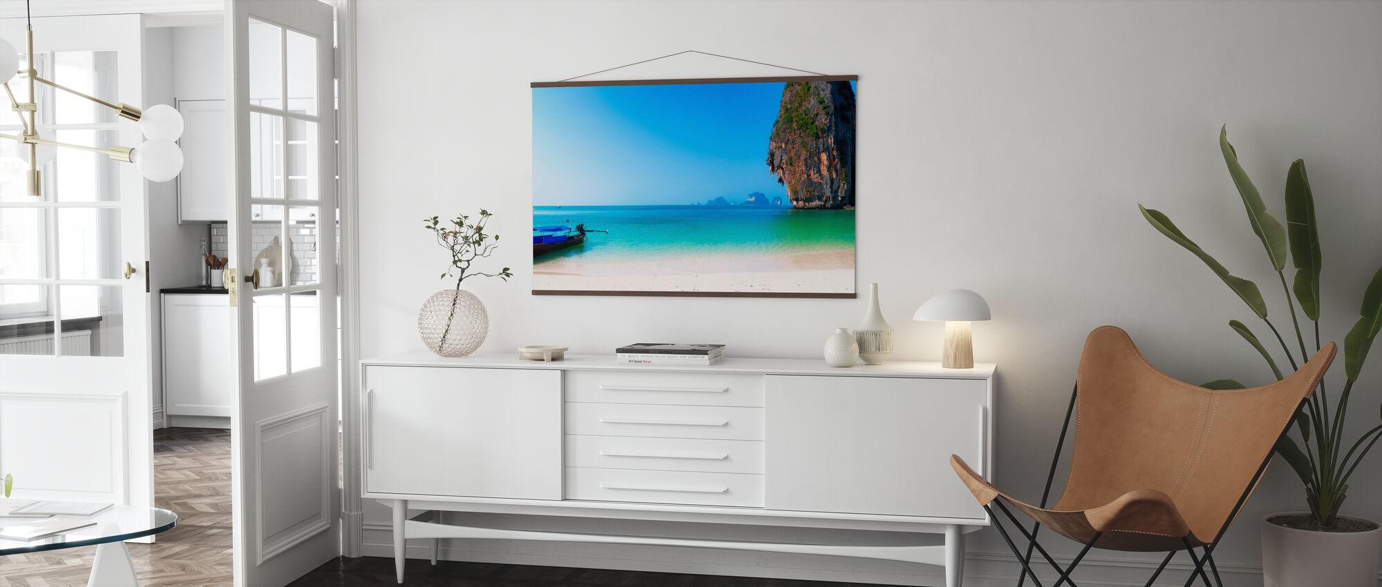 Thailand Island Beach - Poster - Living Room
