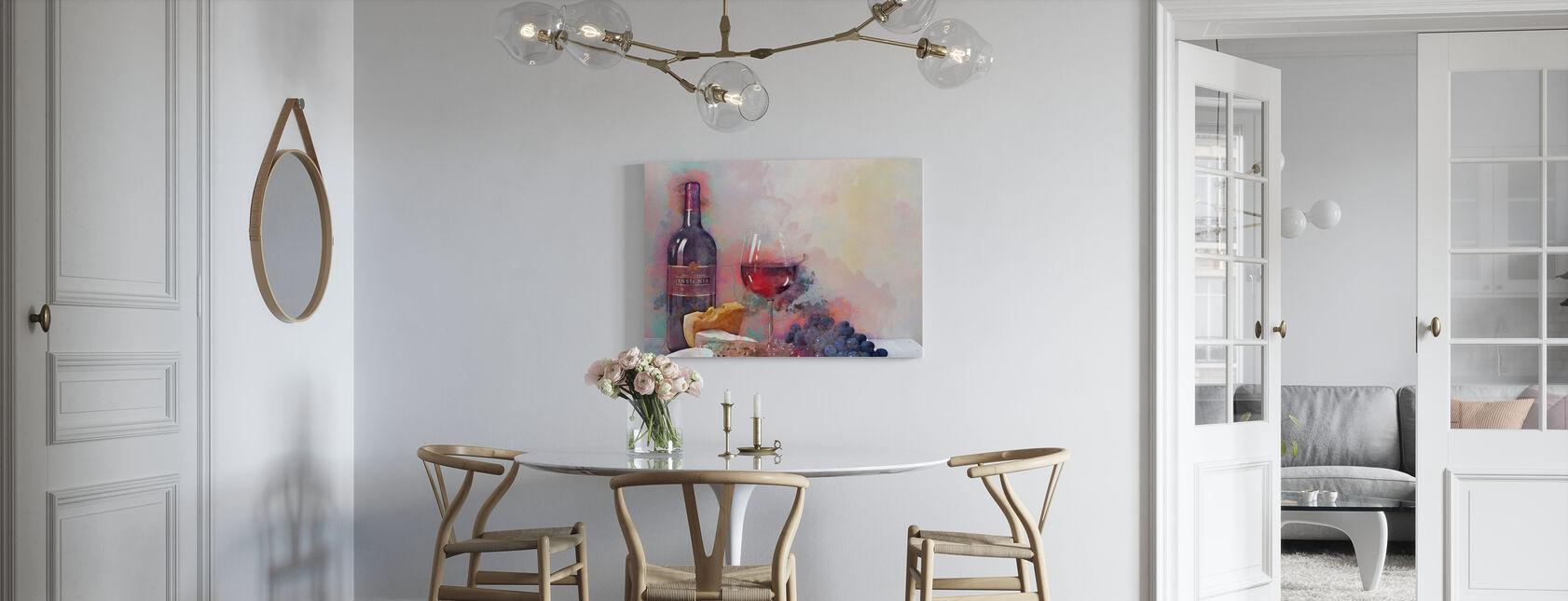 Ett speciellt tillfälle - Canvastavla - Kök