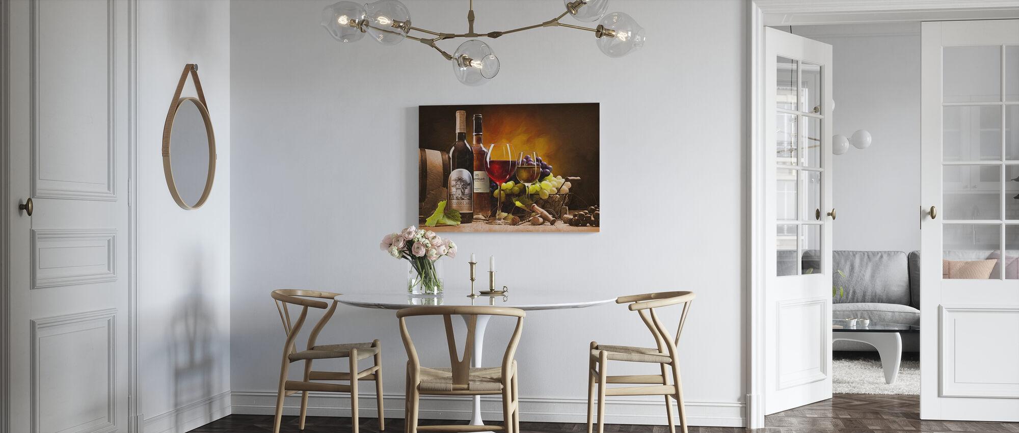 A Taste of Napa Valley - Canvas print - Kitchen
