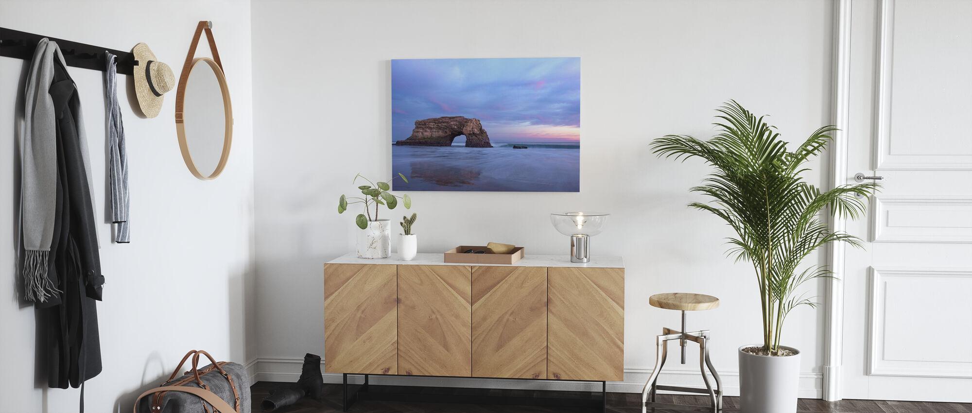 Serenity Shoreline - Canvas print - Hallway