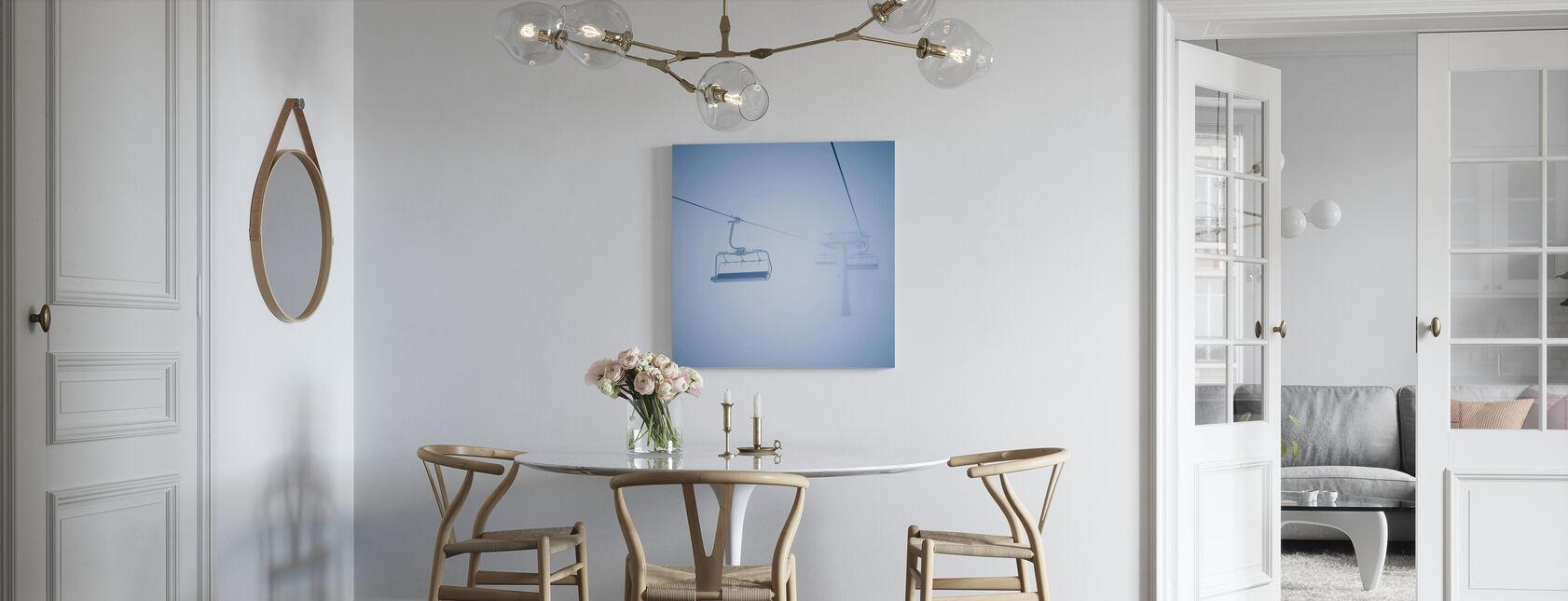 Skiliften - Canvas print - Keuken