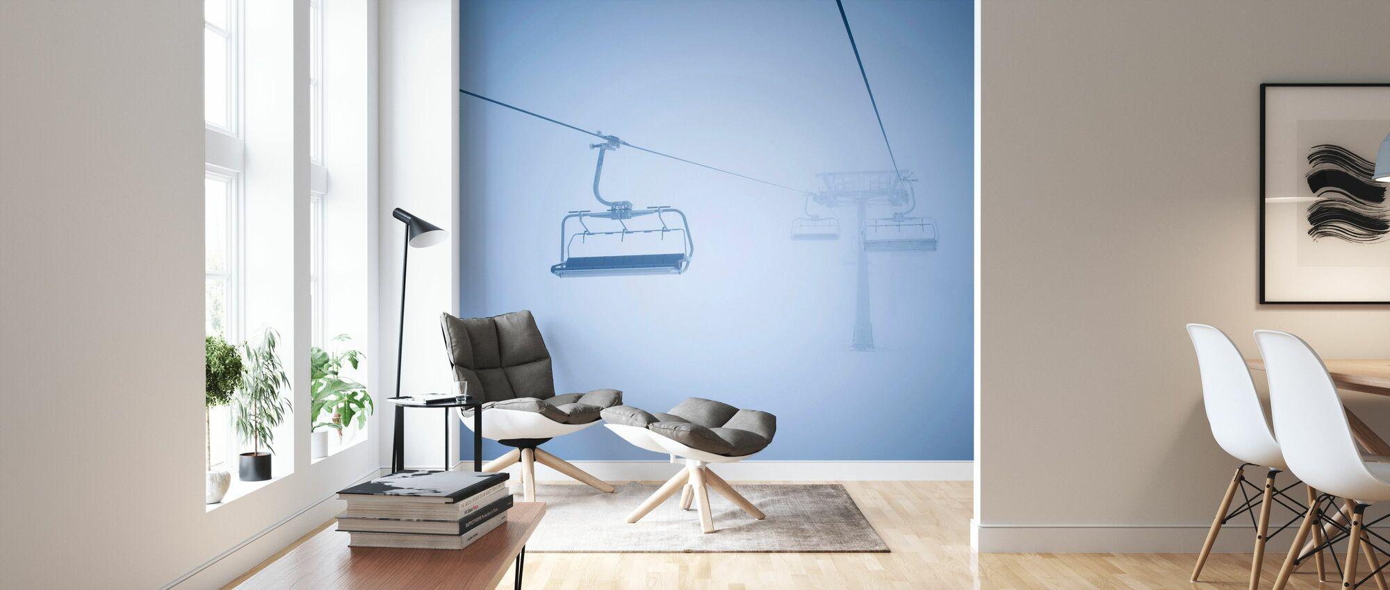 Ski Lifts - Wallpaper - Living Room