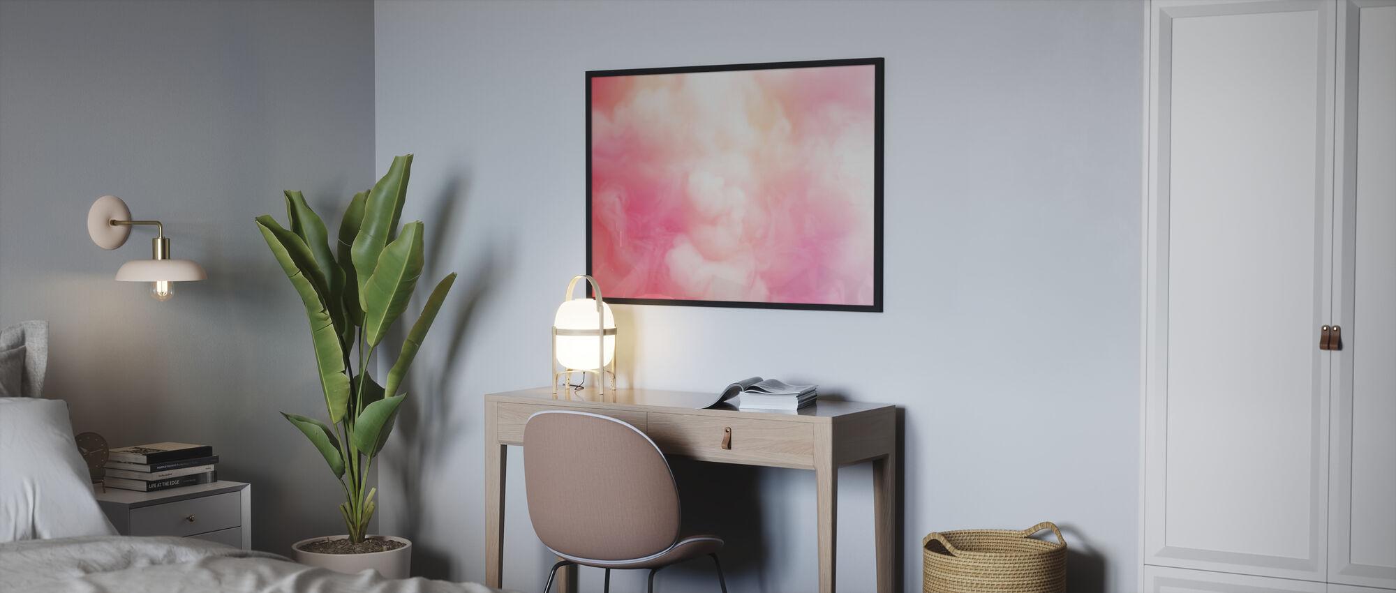 Swirling Smoke - Poster - Bedroom