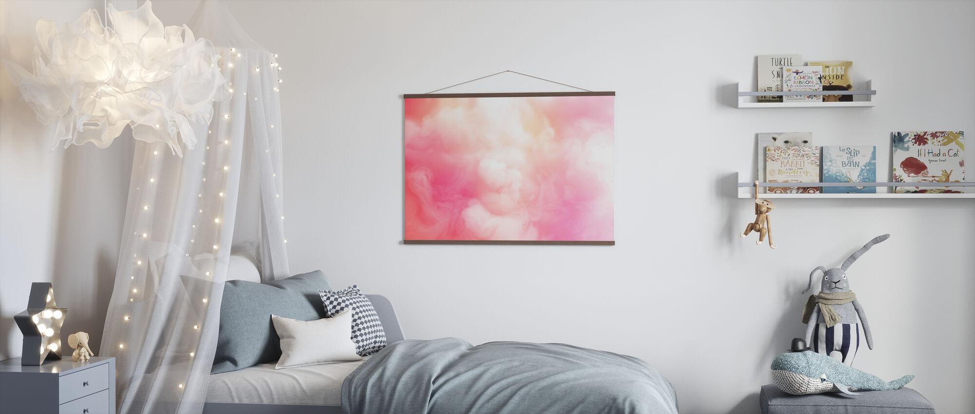 Swirling Smoke - Poster - Kids Room