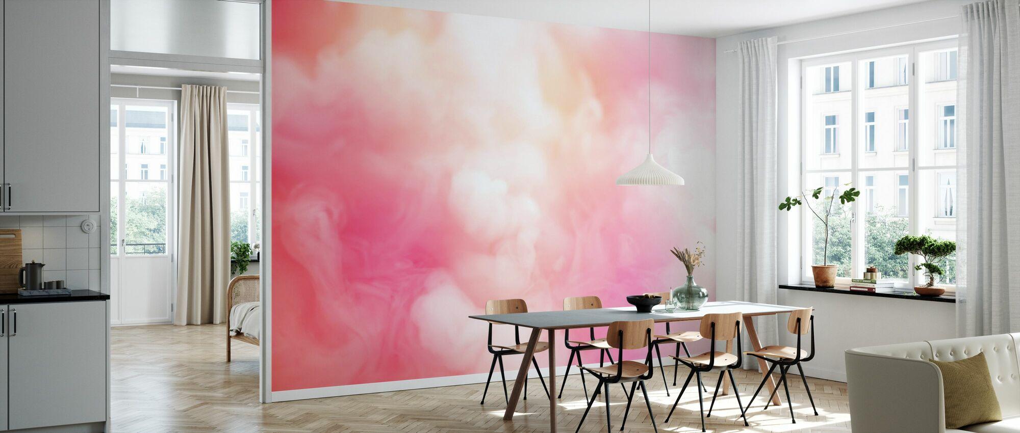 Swirling Smoke - Wallpaper - Kitchen
