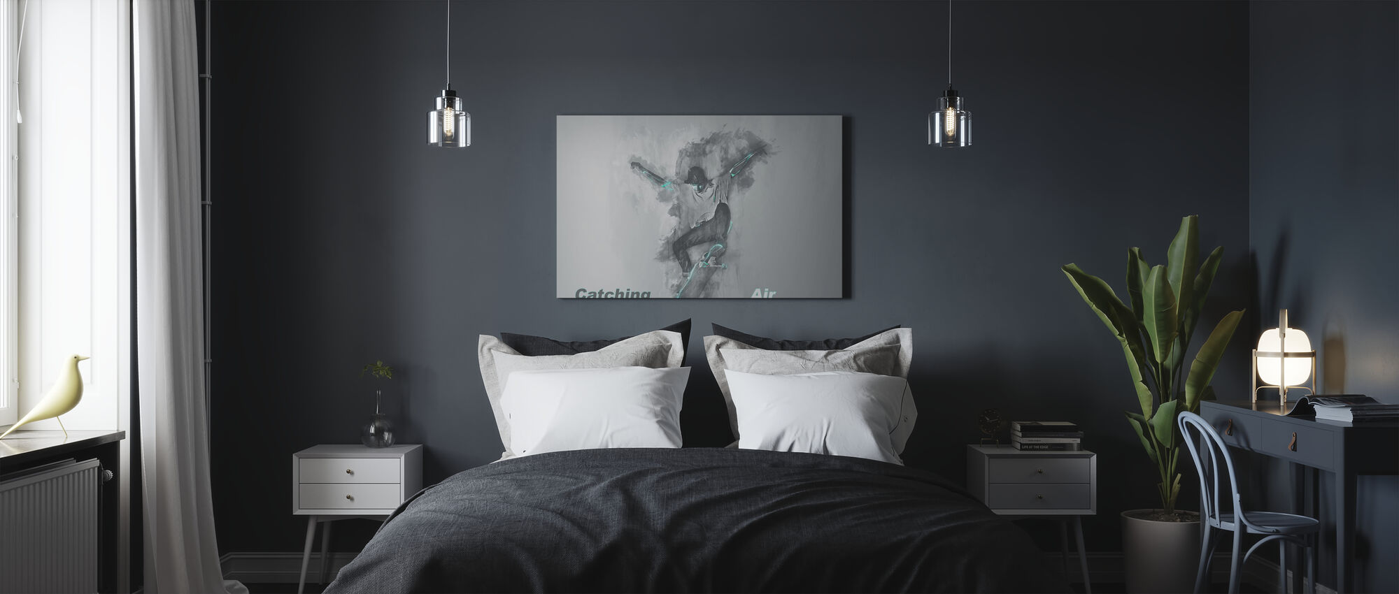 Catching Air - Canvas print - Bedroom