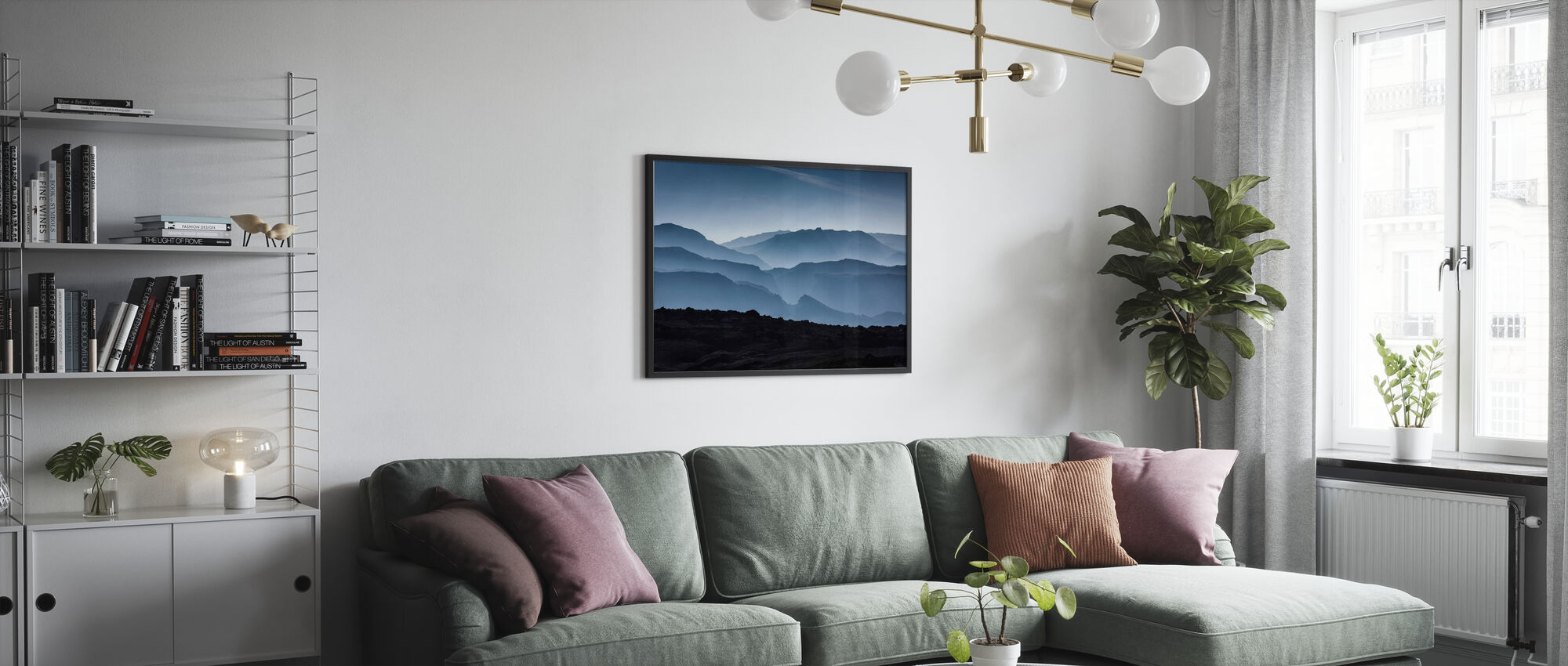 Islandske fjell - Plakat - Stue