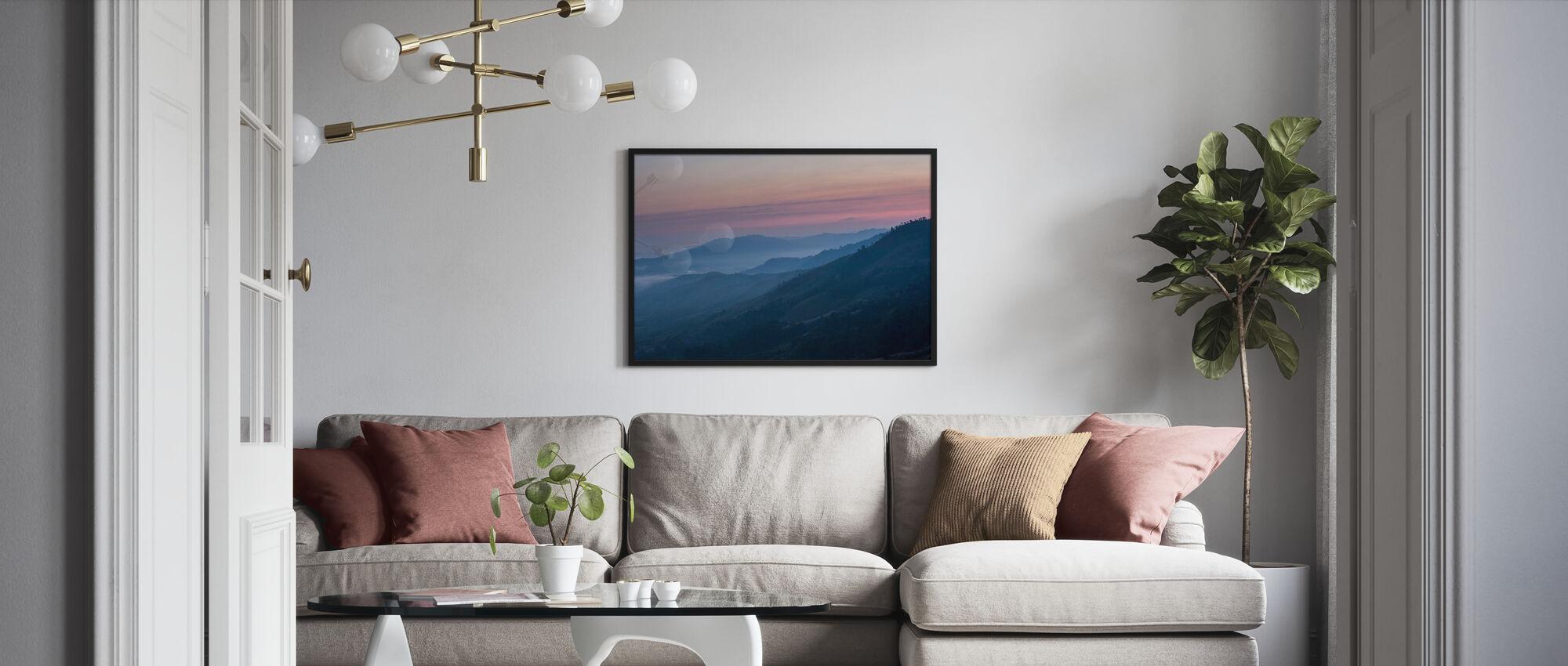 Landschaft Nord-Thailand - Poster - Wohnzimmer
