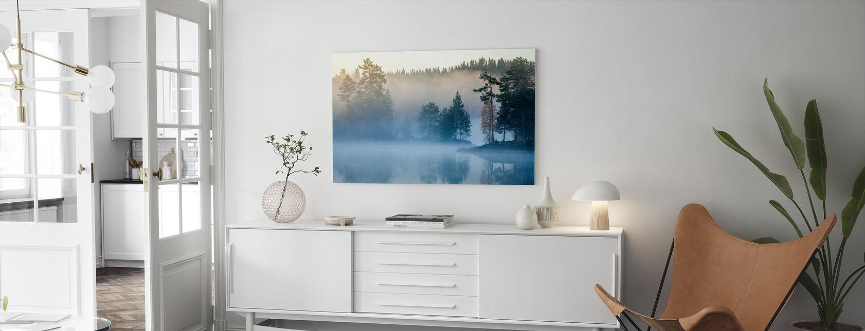 Neblina noruega - Lienzo - Salón
