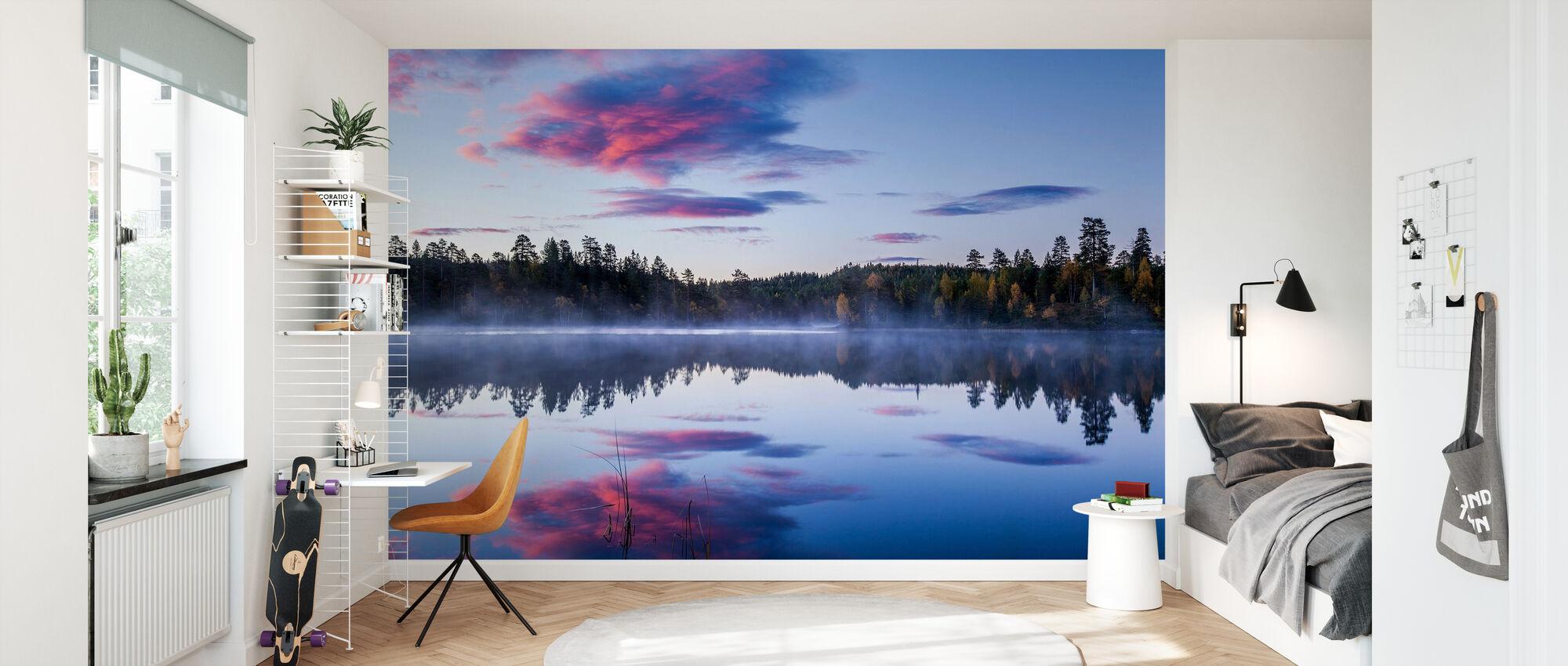 Norwegian Morning - Wallpaper - Kids Room