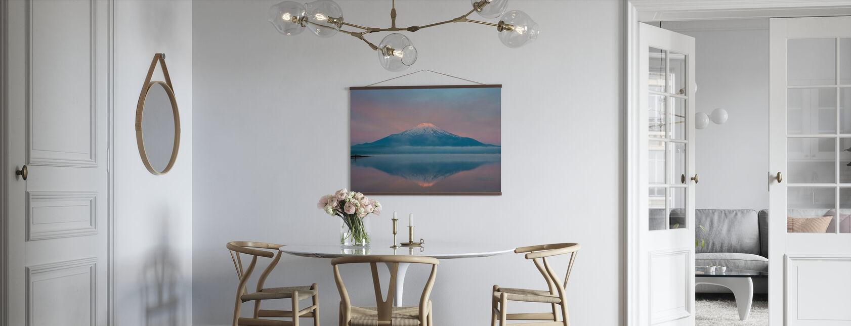 Farbe des Sonnenaufgangs - Poster - Küchen