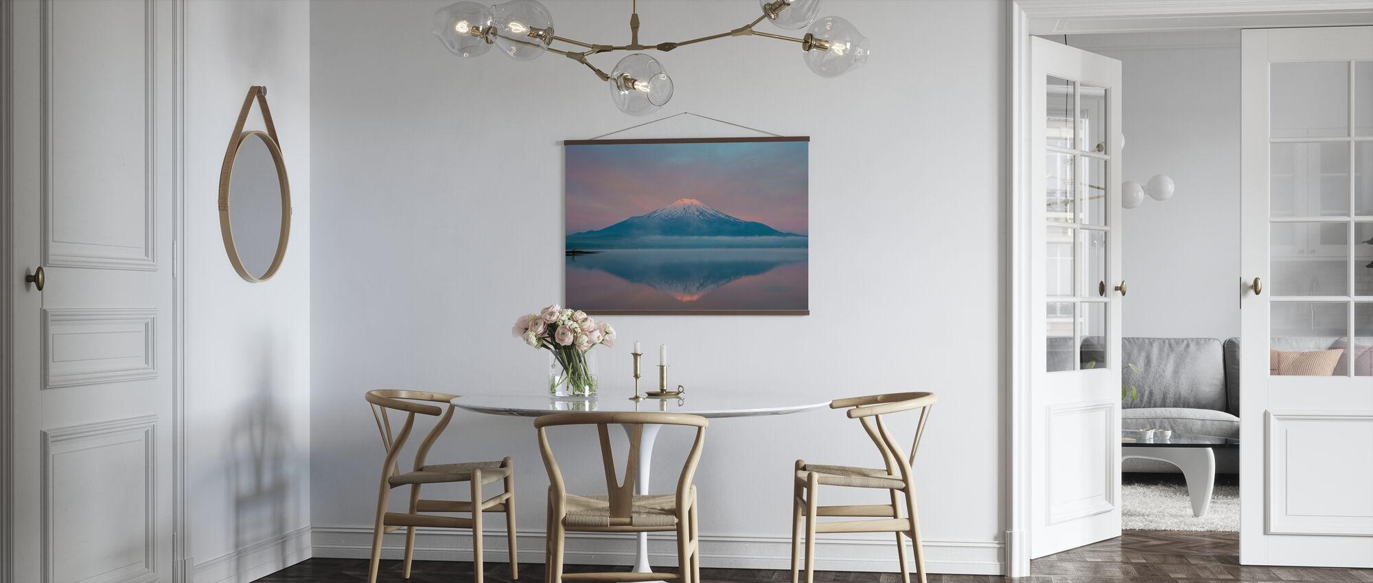Kleur van zonsopgang - Poster - Keuken