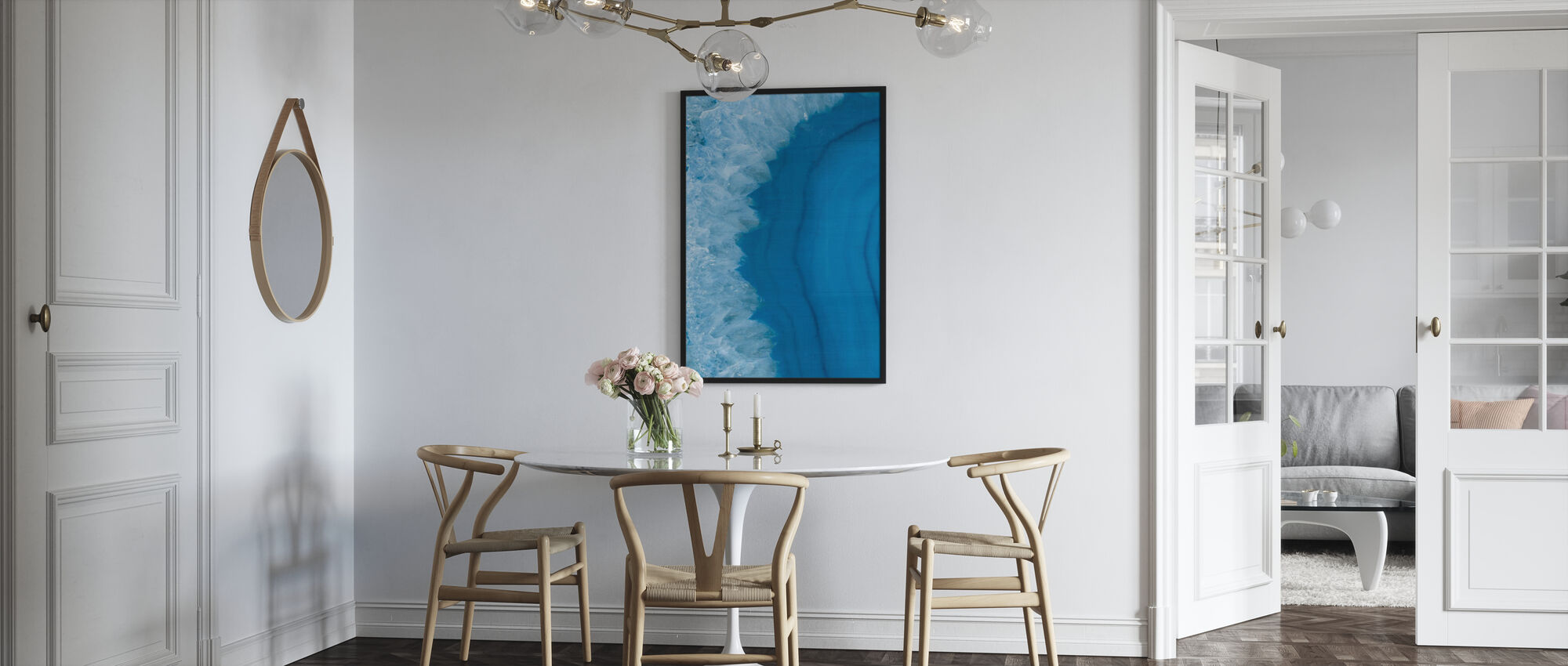 Agate Geode I - Framed print - Kitchen