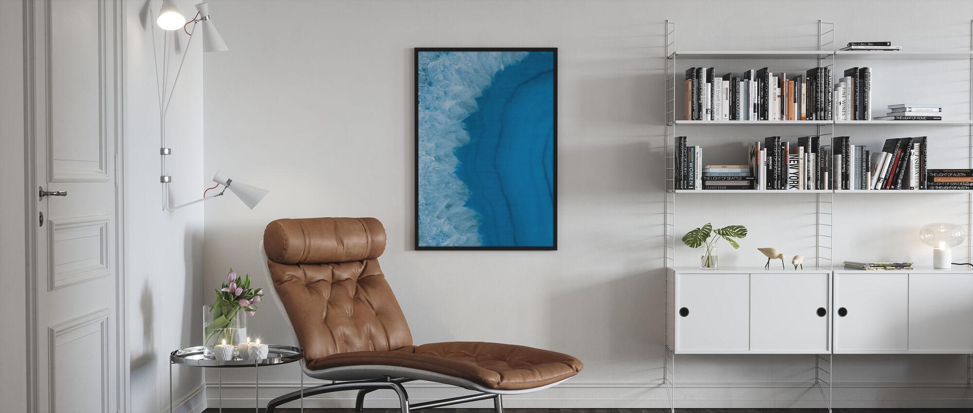 Agate Geode I - Plakat - Stue