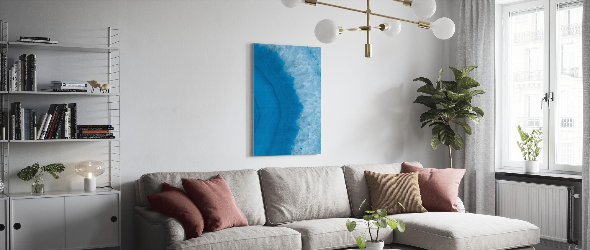Agate Geode II - Canvas print - Woonkamer