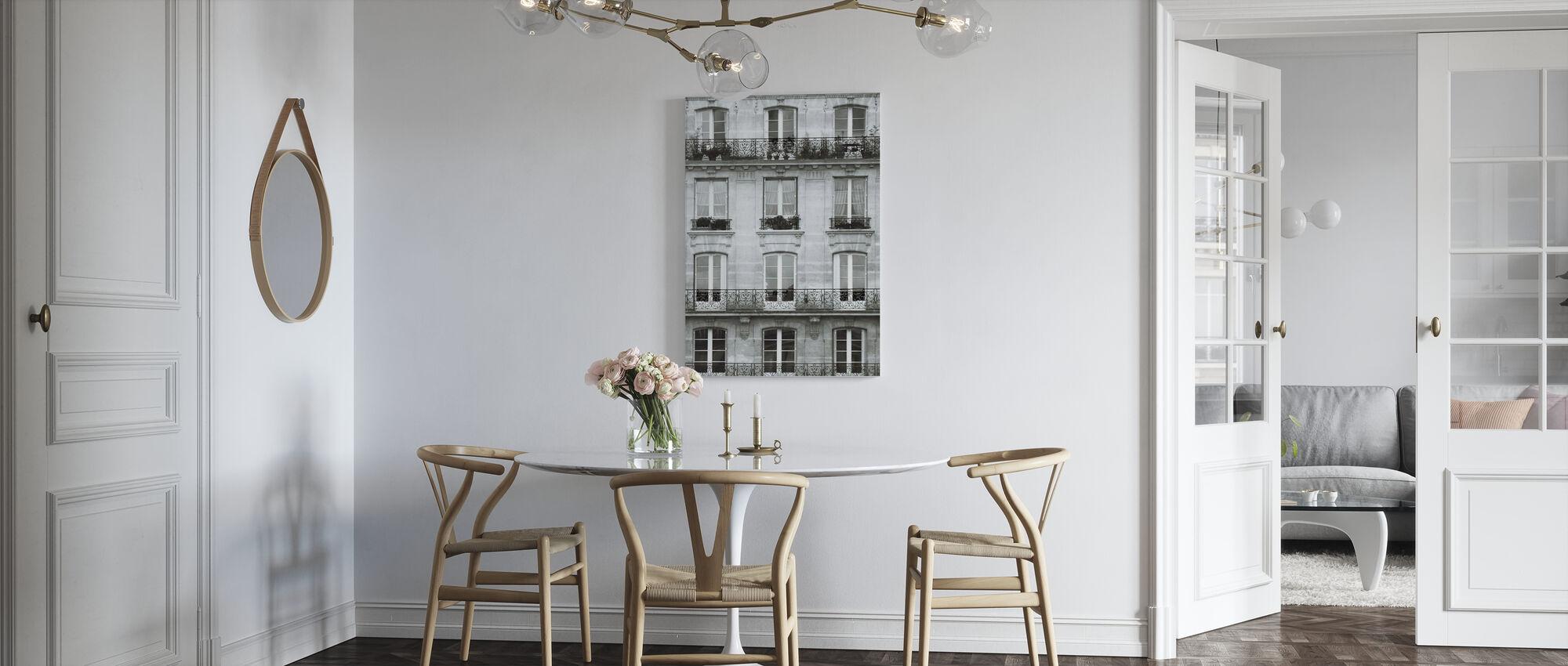 Across the Street II - Canvas print - Kitchen