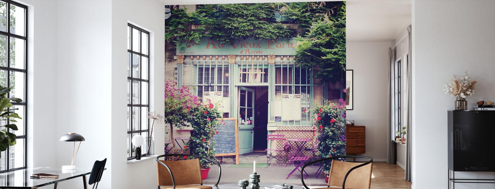 Im Alten Paris - Tapete - Wohnzimmer