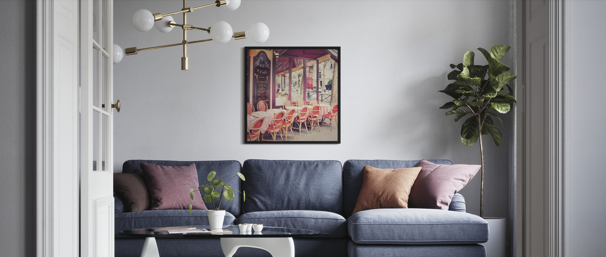 Cafe le Dome - Poster - Living Room