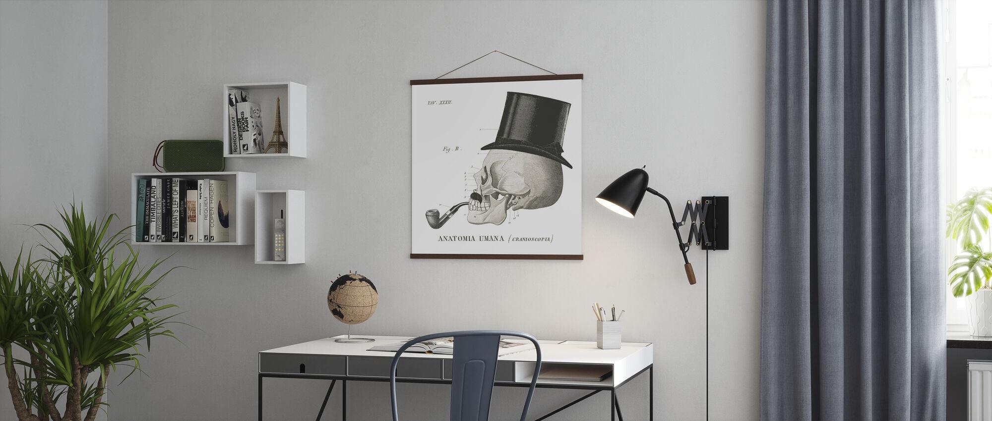 Dandy Knochen II - Poster - Büro