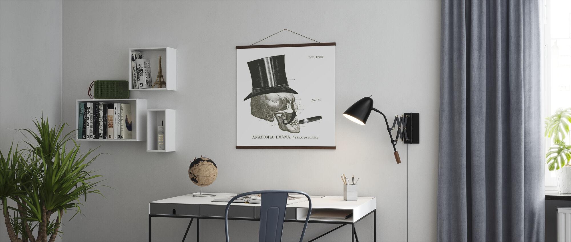 Dandy Knochen III - Poster - Büro