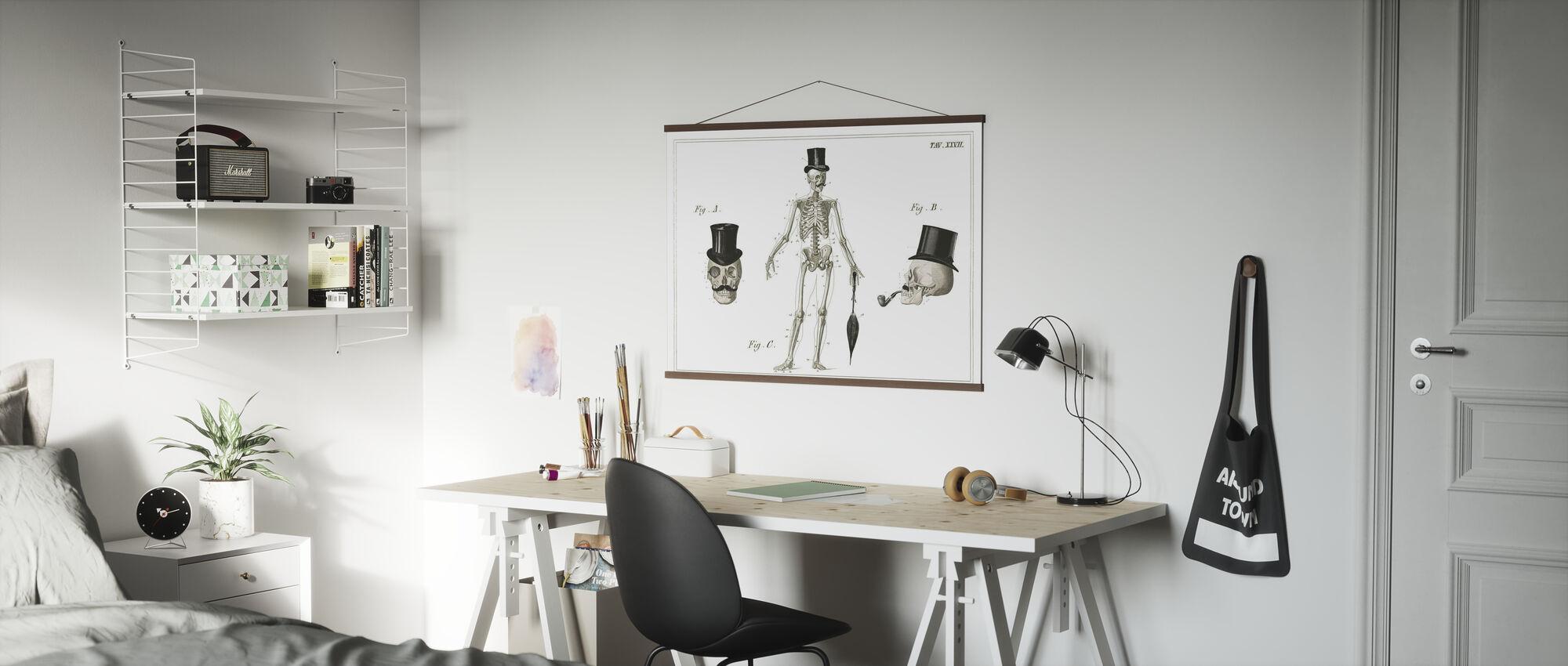 Dandy Knochen - Poster - Büro
