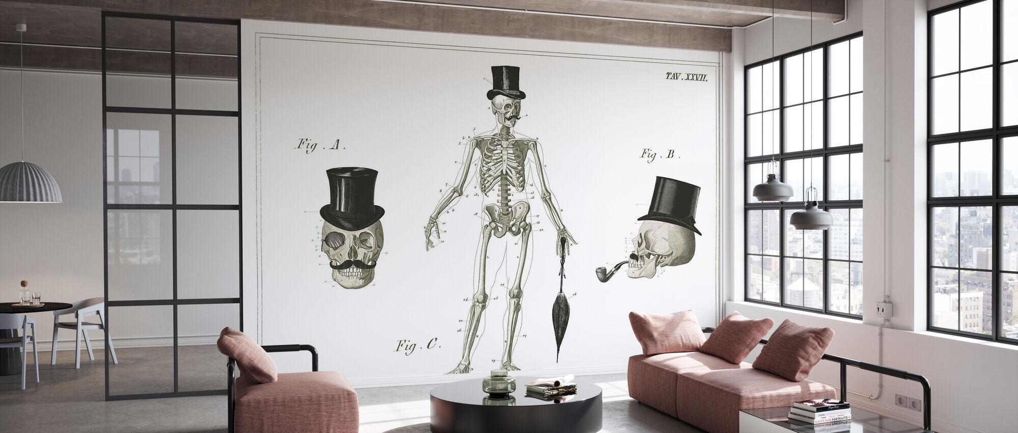Dandy Bones - Wallpaper - Office