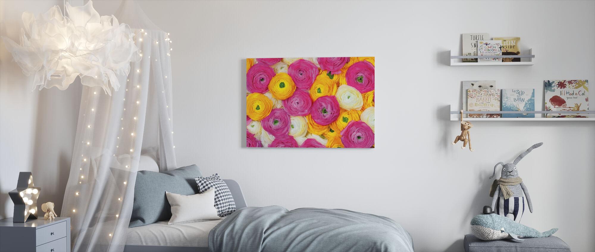 Ranunculus - Canvas print - Kids Room