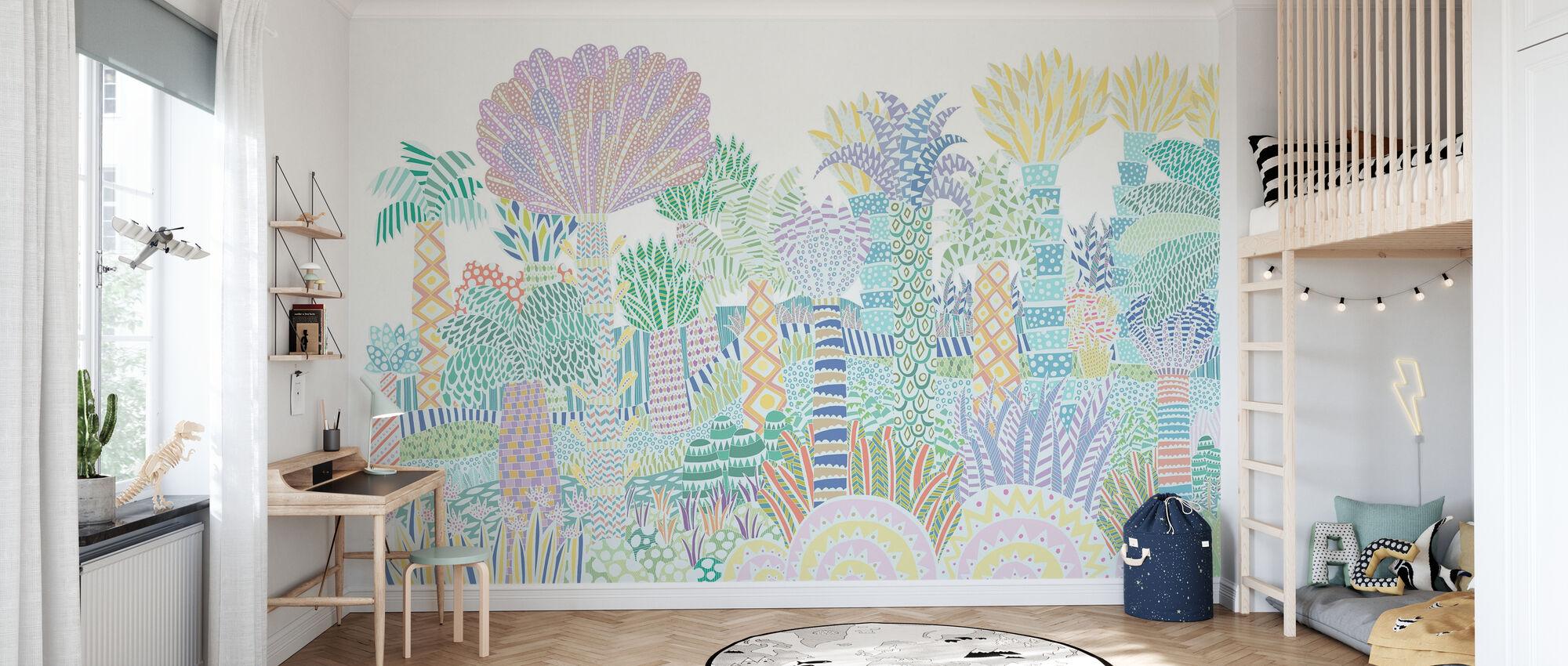 Jungle Multi - Wallpaper - Kids Room