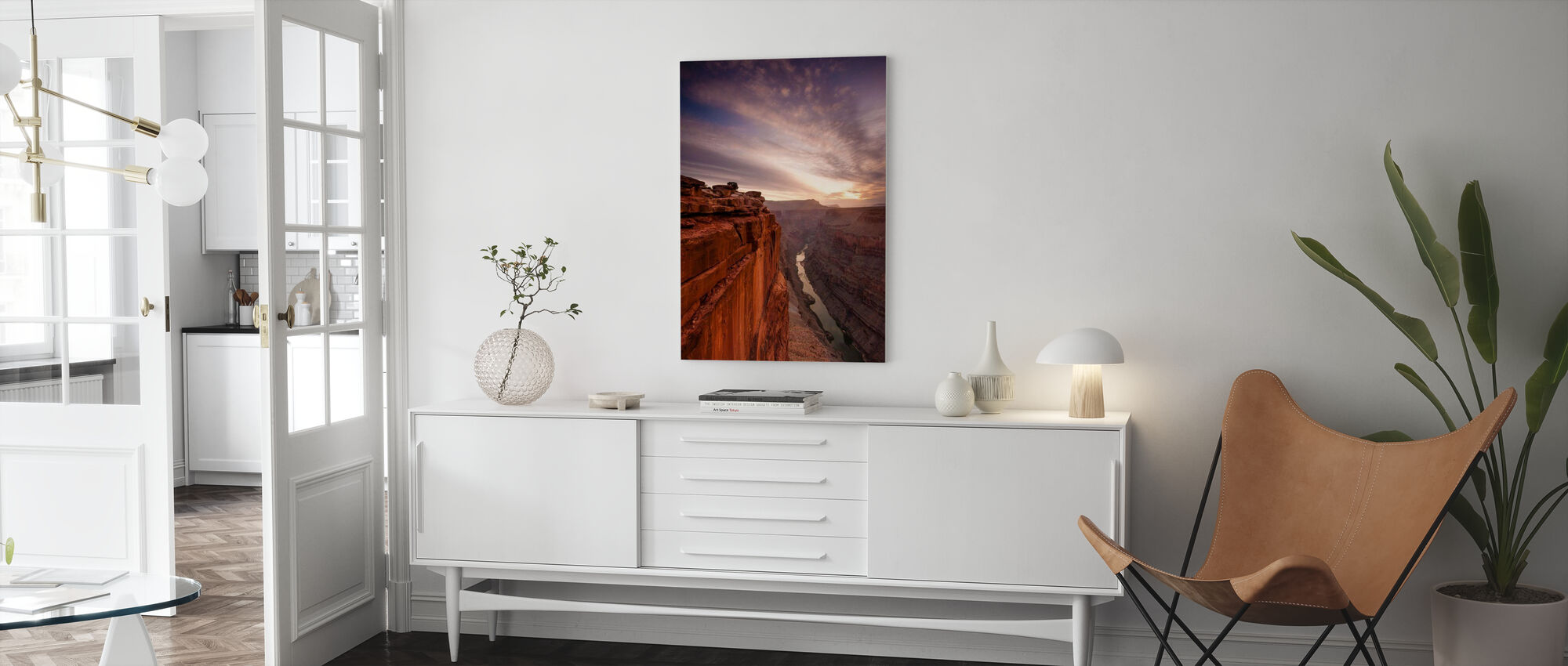 Grand Canyon Edge - Canvas print - Living Room