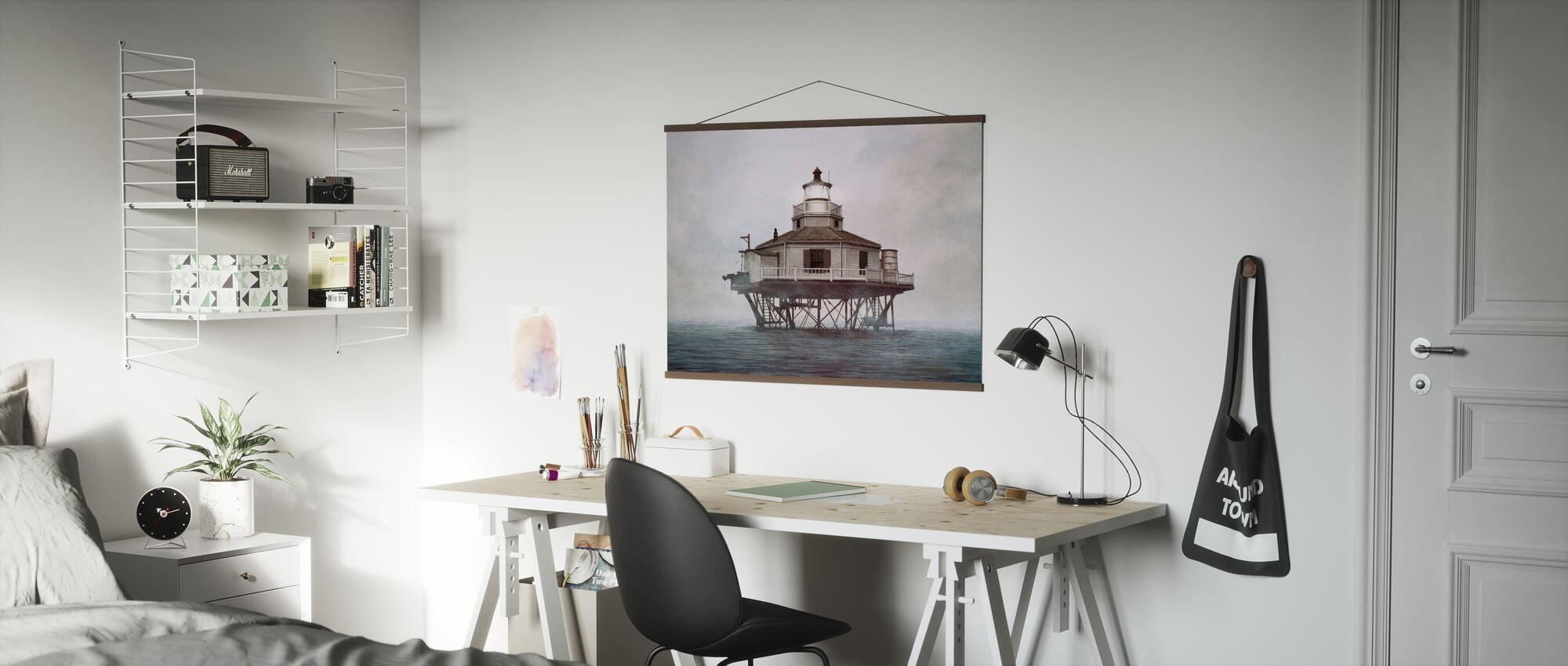 Halbmond-Riff - Poster - Büro