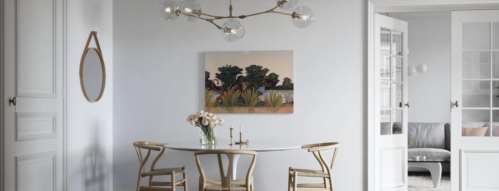 Hidden Leopard - Canvas print - Kitchen