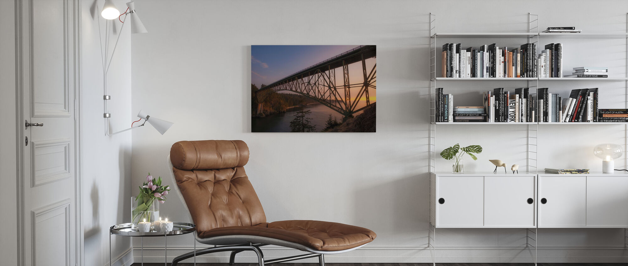 Over It All - Canvas print - Living Room