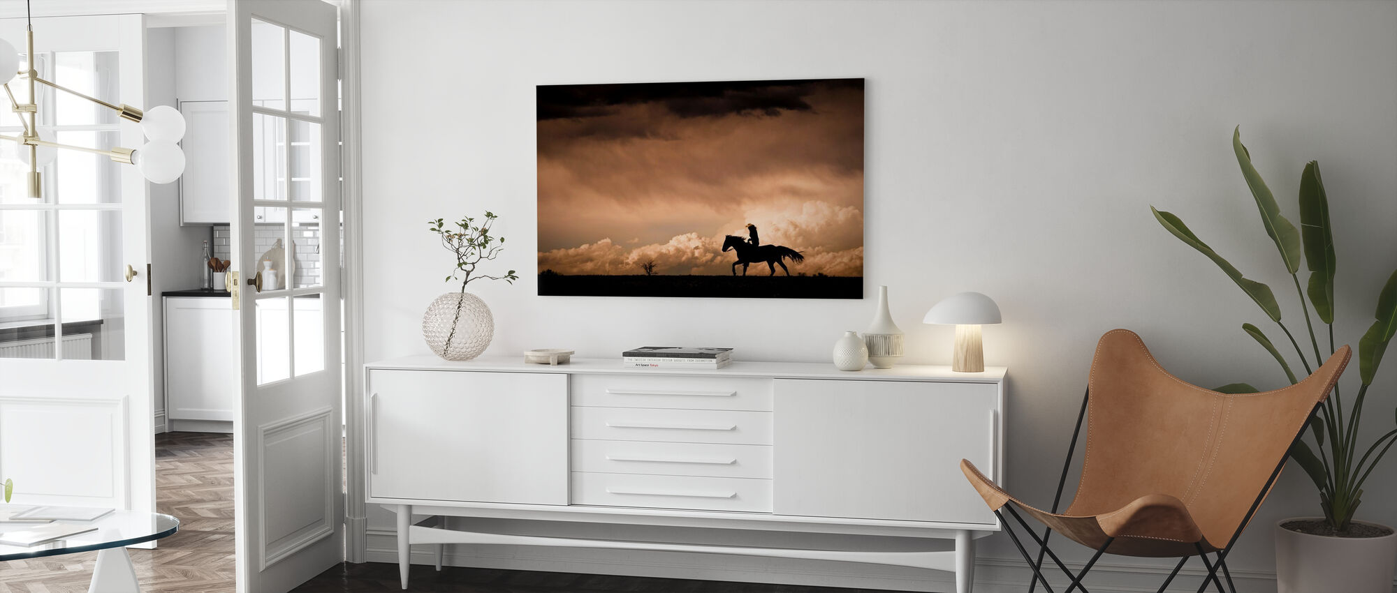 Ride the Storm - Canvas print - Living Room