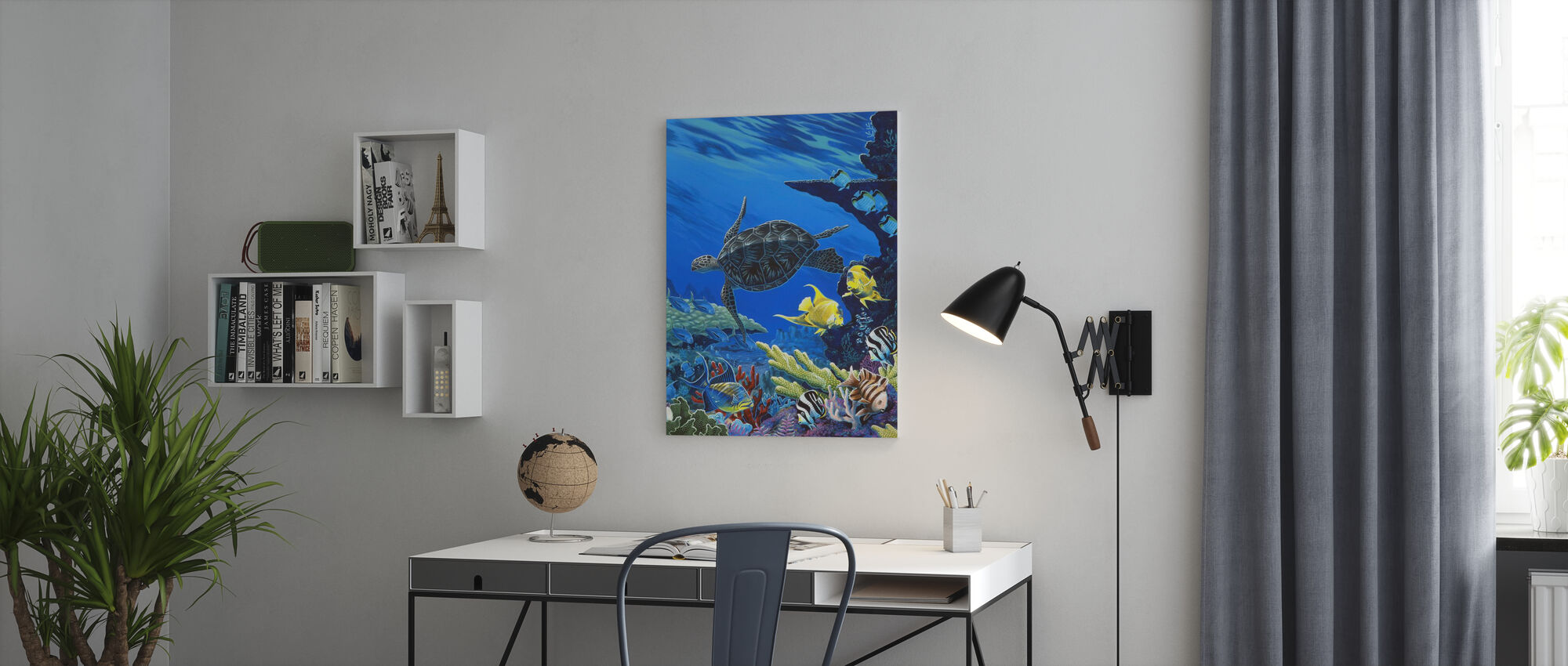 Treasures of the Sea - Canvas print - Office