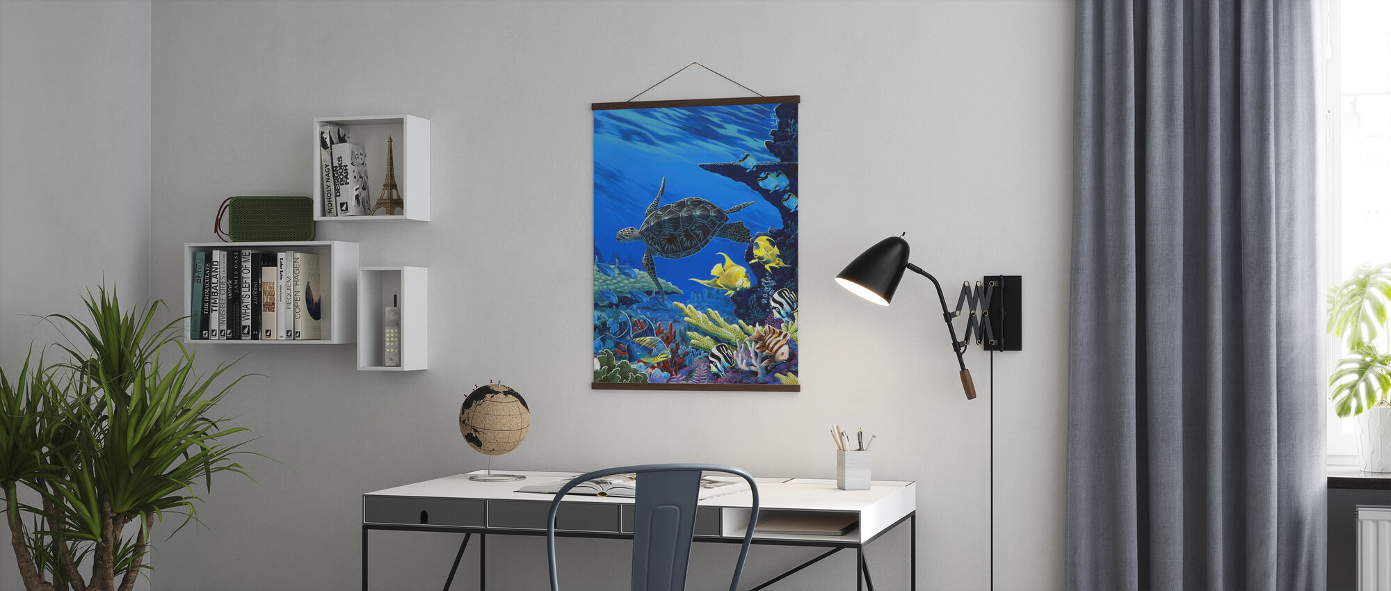Treasures of the Sea - Poster - Office