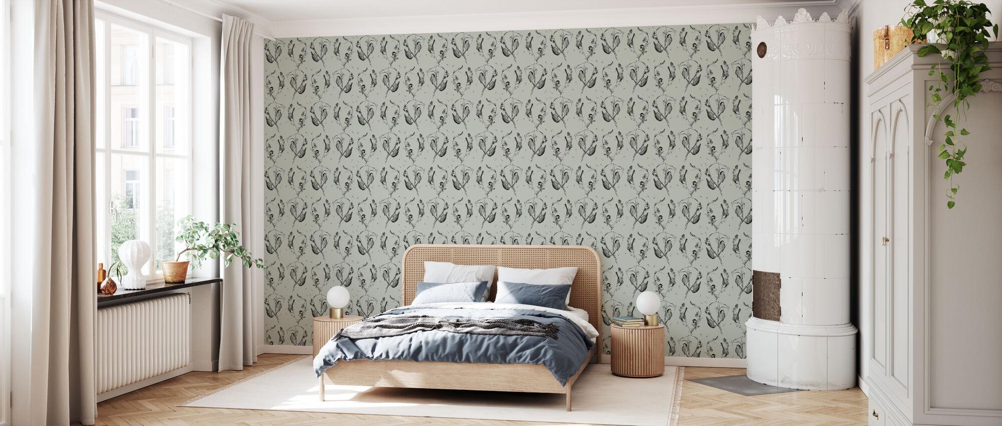 Cuckoo's Nest Moss - Wallpaper - Bedroom