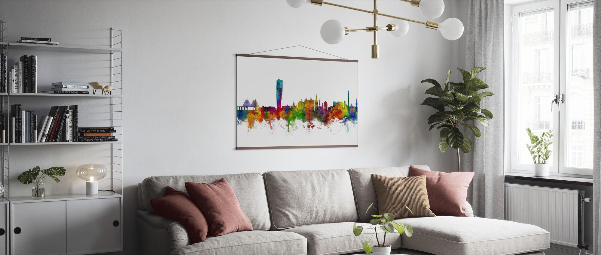 Skyline von Malmö - Poster - Wohnzimmer
