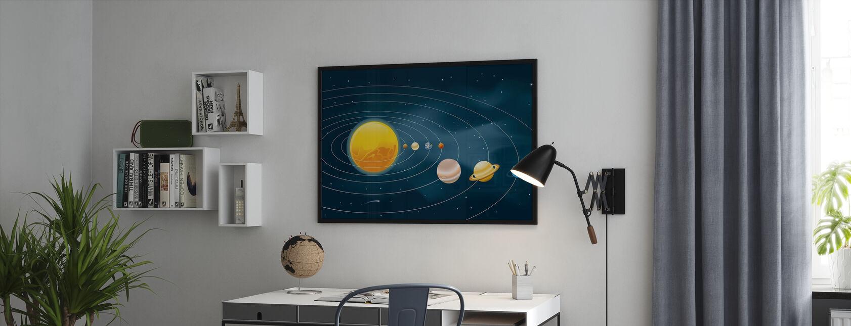 Jordar solsystem - Poster - Kontor