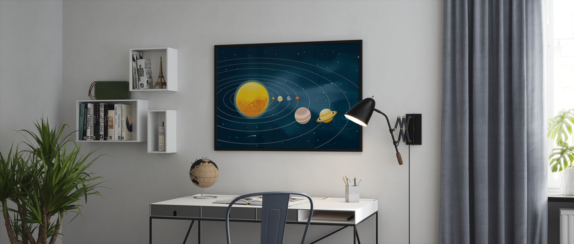 Earths Solar System - Poster - Office