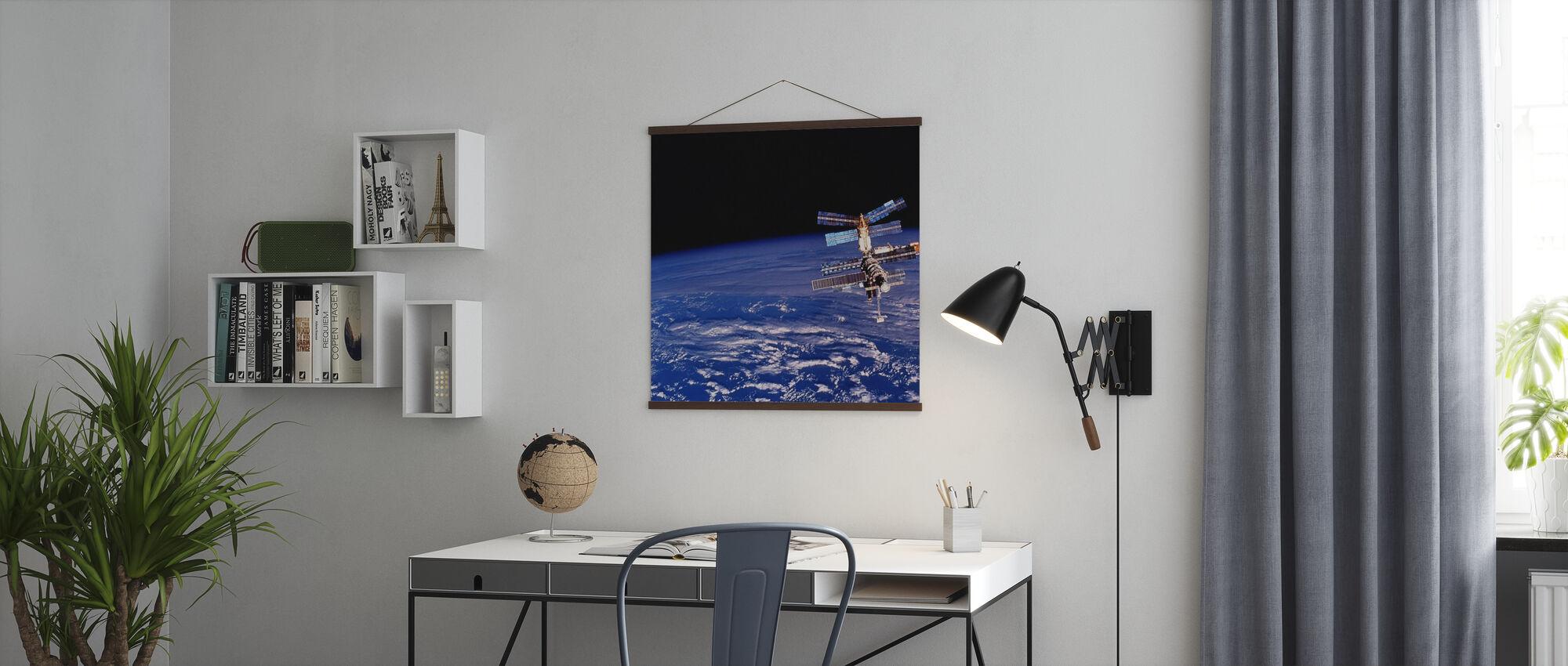 Mirin avaruusasema - Juliste - Toimisto