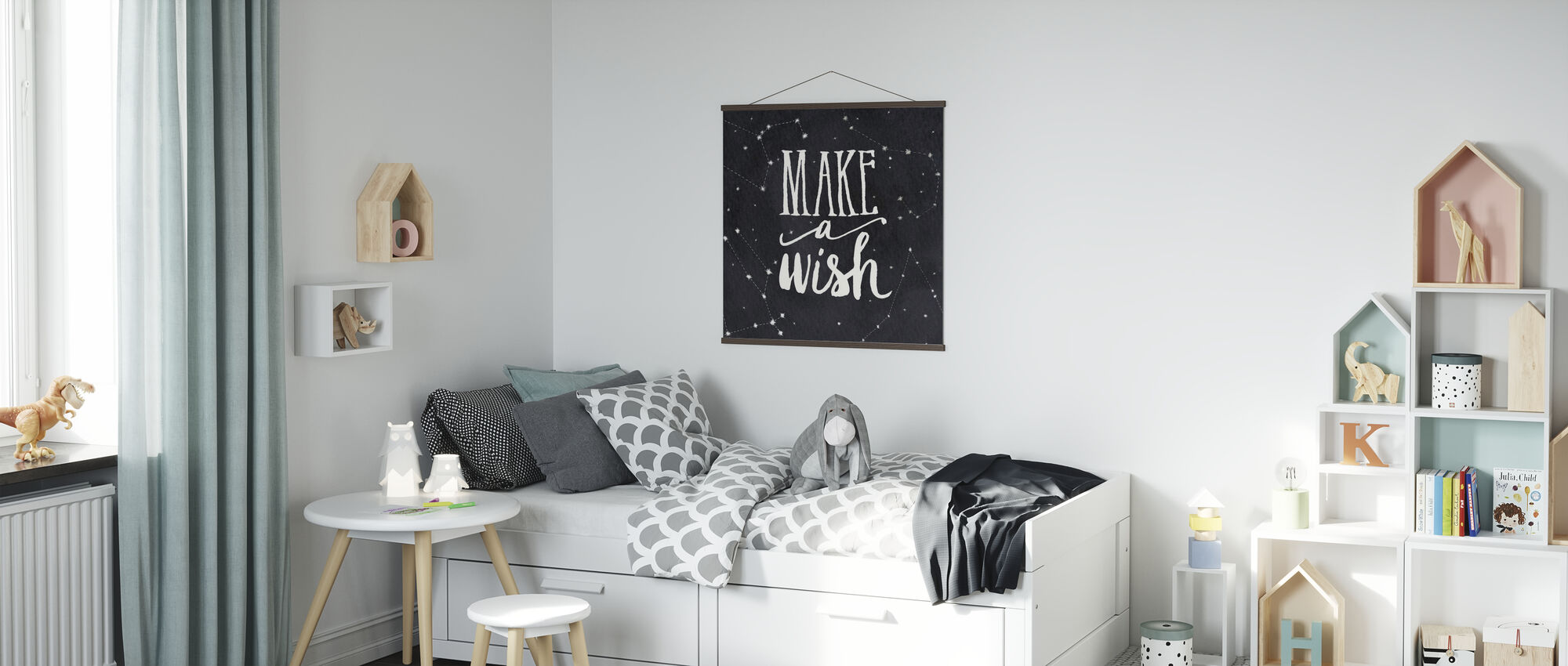 Make a Wish - Poster - Kids Room