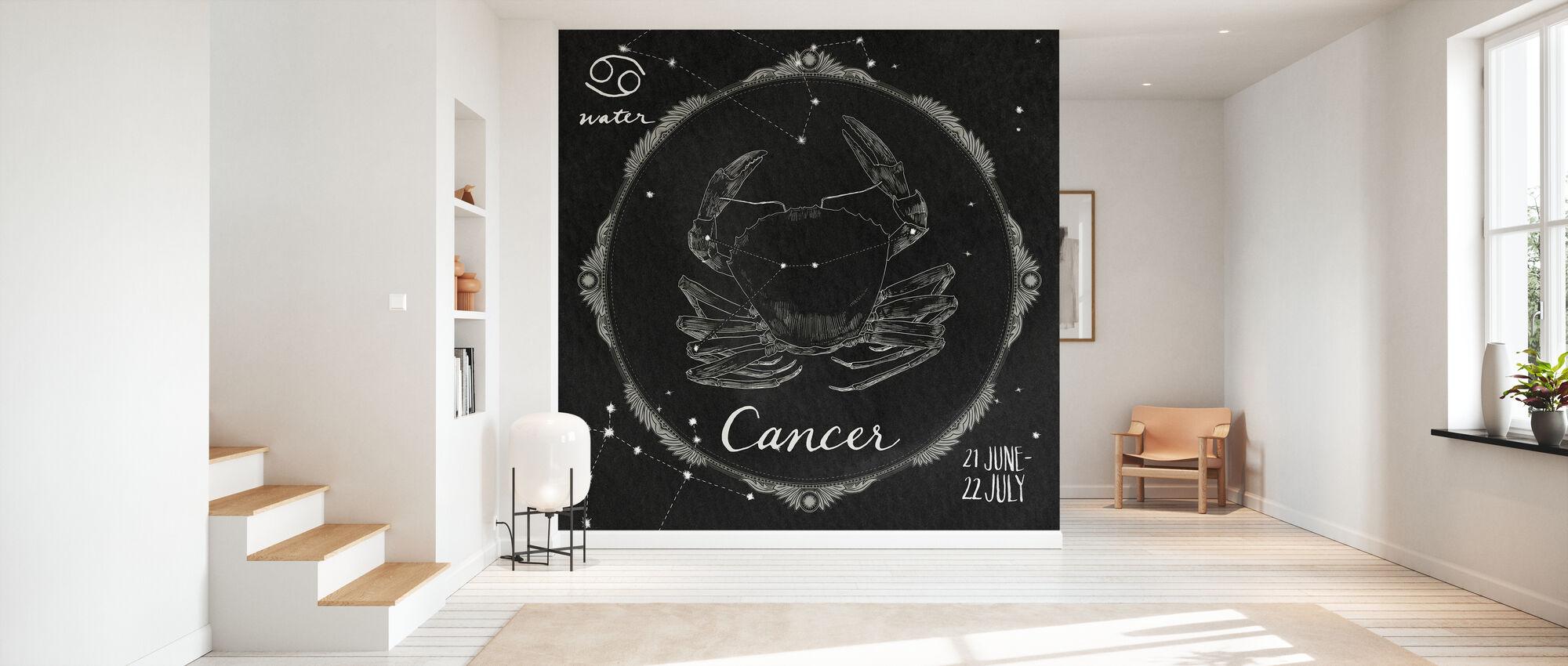 Night Sky Cancer - Wallpaper - Hallway