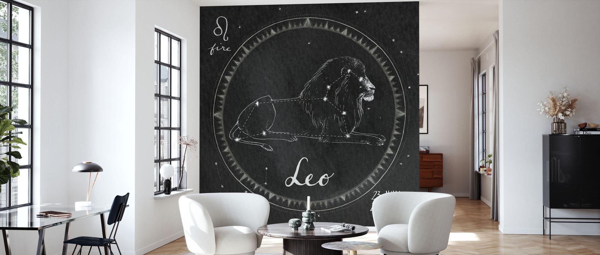 Night Sky Leo - Wallpaper - Living Room