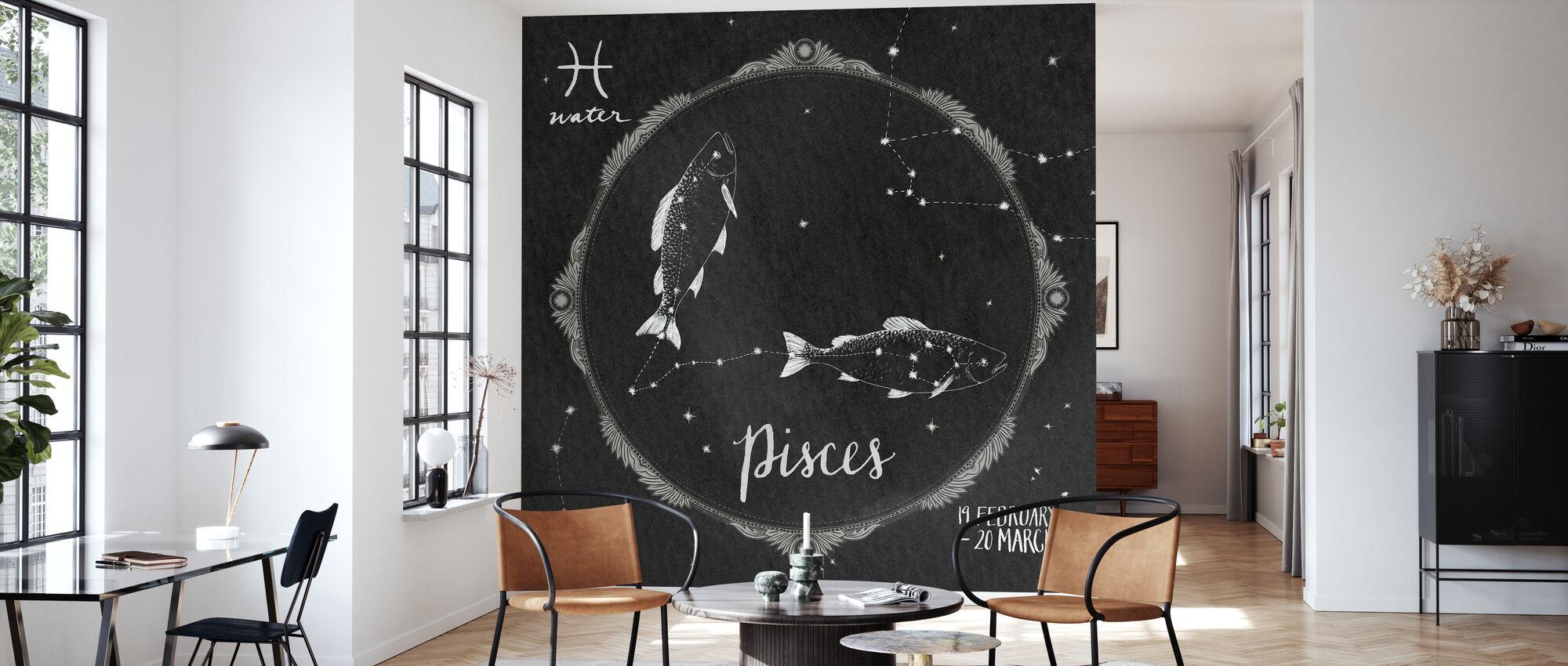 Night Sky Pisces - Wallpaper - Living Room