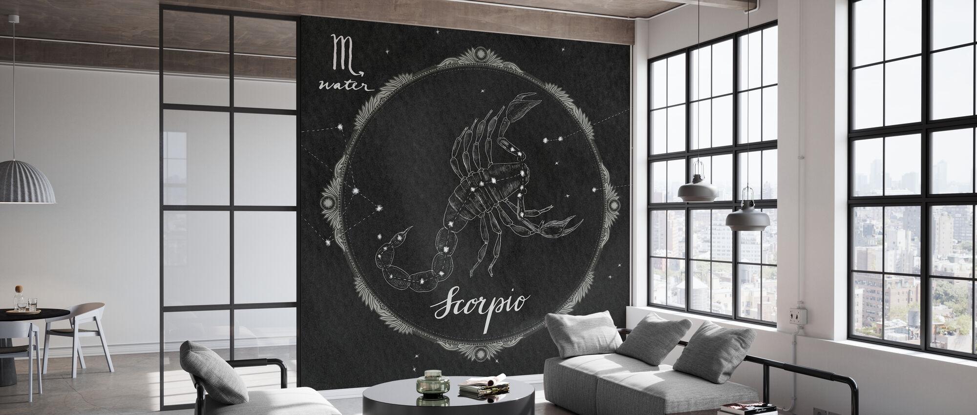 Night Sky Scorpio - Wallpaper - Office